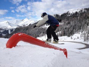 Snowpark Obertauern - Donkey pipeline